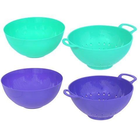 Mini Prep Bowls Mini Colander and Matching Bowl (Bowl Colander Small)