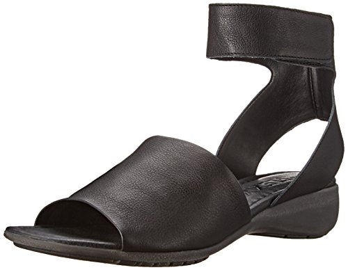 The Flexx Women's Beglad Dress Sandal, BLACK GUANTO, 7.5 M US by The FLEXX (Image #1)