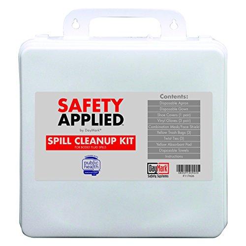 DayMark SafetyApplied Refillable Bodily Fluid Spill Kit (Bodily Fluid)