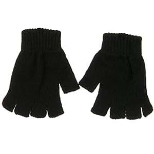 Fingerless Magic Glove-Black