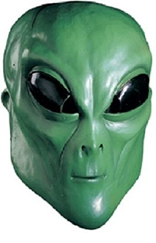 Overhead Masks (Rubie's Costume Co Alien Overhead Mask, Green, One Size)