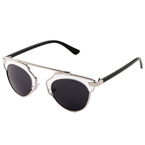 Sunny&Love Unisex Fashion Small Retro Round Glasses / - Sunglasses For Round Face Small Shape