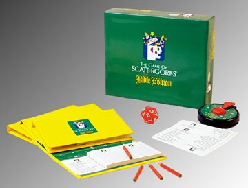 Scattergories Bible Edition (Bible Scattergories Edition Game)