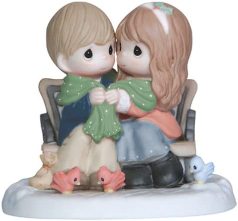 Precious Moments Being with You Warms My Heart Figurine