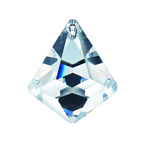 Genuine Swarovski Crystal 40mm Clear Crystal Cone Ball Prism, Amazing Shine and Brilliance with Certificate - Swarovski Genuine Necklace