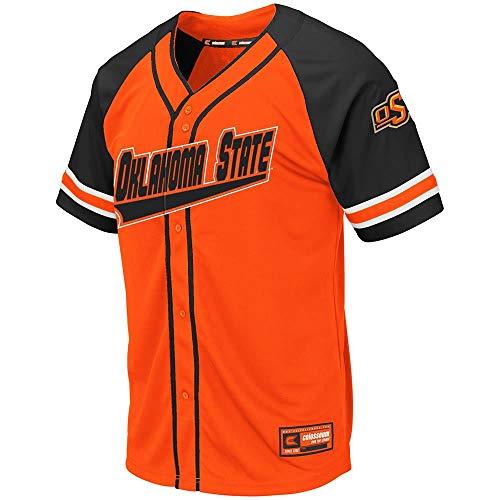 (Mens Oklahoma State Cowboys Wallis Baseball Jersey - 2XL)