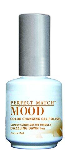 LECHAT Perfect Match Mood Gel Polish, Dazzling Dawn, 0.500 O