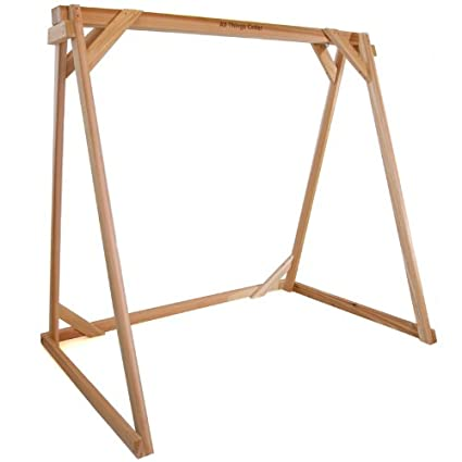 Amazon.com : All Things Cedar AF90U Swing A-Frame : Garden & Outdoor