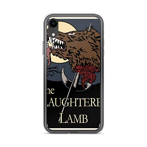(iPhone XR Case Anti-Scratch Motion Picture Transparent Cases Cover The Slaughtered Lamb Movies Video Film Crystal Clear)
