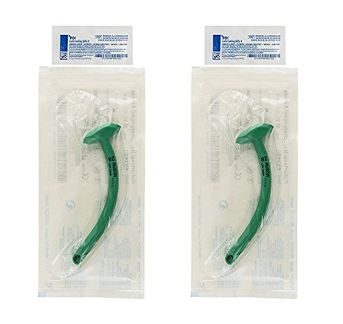 Rusch Inc. Nasopharyngeal Airway (28 Fr., 9.3mm) with Surgilube (2-Pack)