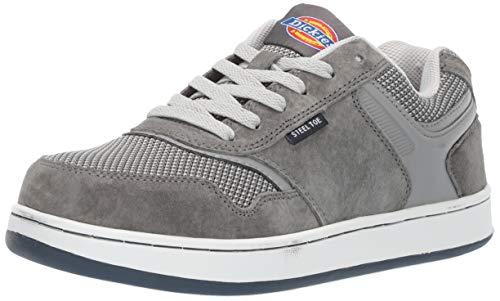 Dickies Men's Shredder Steel Toe EH Industrial Shoe, Gray, 11 Medium US