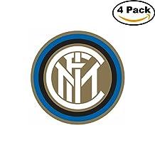 Inter Milan Vinyl DieCut Sticker Decal Logo Italy Football Soccer 4 Stickers