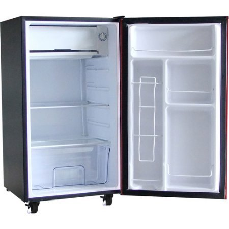 Igloo 3.2 cu ft Garage / Utility Refrigerator | 2 Removable Wire Shelves, Red