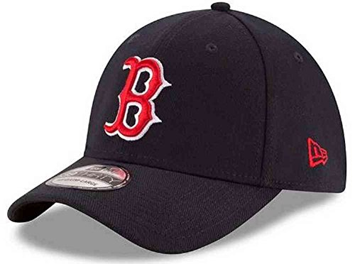 New Era MLB Boston Red Sox Team Classic Game 39Thirty Stretch Fit Cap, Blue, (New Era Stretch Cap)