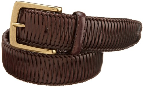 Tommy Bahama Men's Casual Stretch Braided Leather Belt
