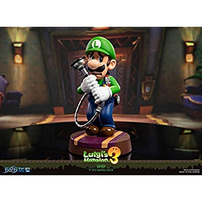 First4Figures LM03ST Mansion: Luigi (Standard) PVC Collectable Figurine: Toys & Games