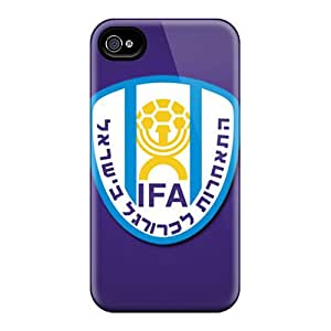 For Iphone Cases, High Quality Israel Football Logo For Iphone 6 Covers Cases