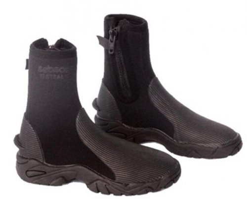 Seasoft Ti Stealth Boot - UK Size 9 - Great for Scuba Divers and Watersports