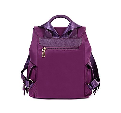 Women's Removable handle Strap School Purple Top Yiji Backpack PdpnxP