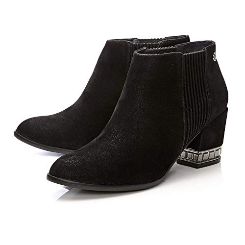 Pelle In Femme Chelsea Boots Moda FYqF5