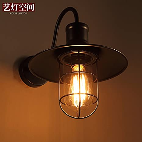 Modern Wall Light Home Bedroom Bar Sconce Lamp Indoor Garden E27 Fixture !