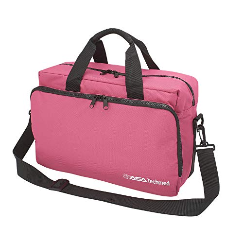 Nurse/Physician Nylon Medical Equipment Instrument Bag (Pink)