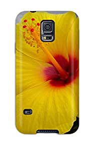 Anne C. Flores's Shop Hot 1967850K70513658 Waterdrop Snap-on Flower Case For Galaxy S5