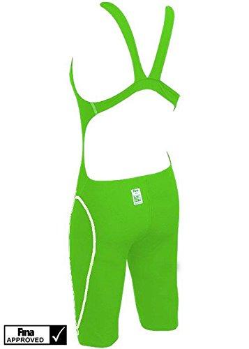 Head SWS Racing Knee - Bañador para mujer Verde (GN)