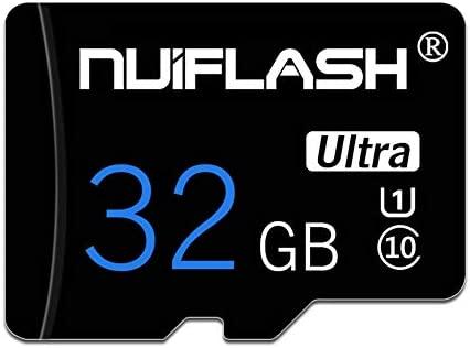 y2y3zfal NUIFLASH 4/8/16/32/64 / 128GB Tarjeta De Memoria TF De Datos C10 De Alta Velocidad para Tableta De Teléfono 32GB
