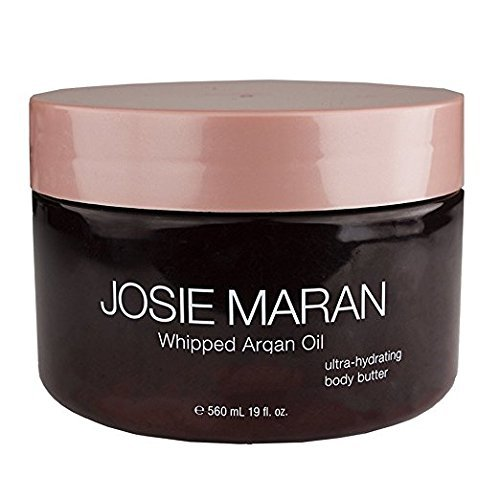 Josie Maran Whipped Argan Oil Ultra-Hydrating Body Butter (19 fl oz./560 ml, Unscented)