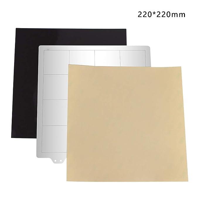 Base magnética placa flexible construcción superficie PEI ...