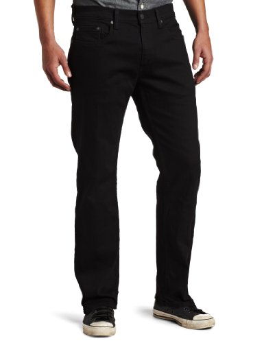 Levi's Men's 559 Relaxed Straight Fit Jean - 36W x 32L - Black - Stretch