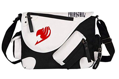 Siawasey Fairy Tail Anime Cosplay Handbag Messenger Bag Backpack Shoulder Bag ()