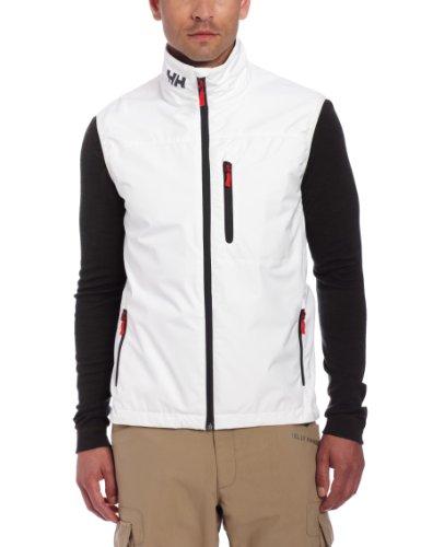 Helly Hansen Men's Crew Vest, White, Large