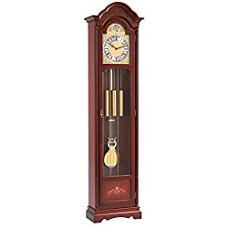 Hermle Grandfather clock walnut from