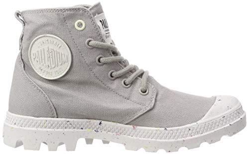 S30 W A Organic Sneaker Hi ash Grigio Collo Donna Palladium Alto 6Bwfq