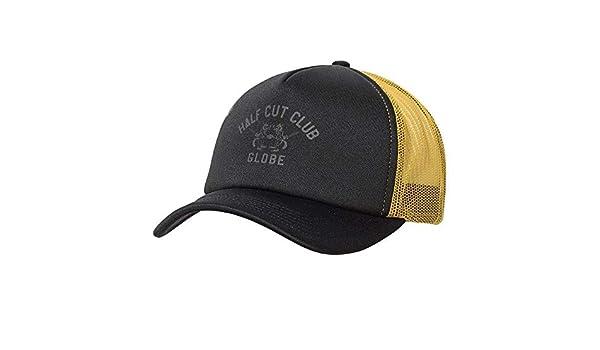 Globe Half Cut Trucker Gorra, Hombre, Black, Talla Única: Amazon ...