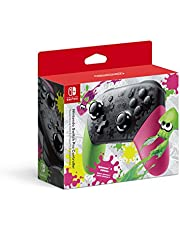 Nintendo 45496590642 Switch Pro Controller - Splatoon 2 Edition