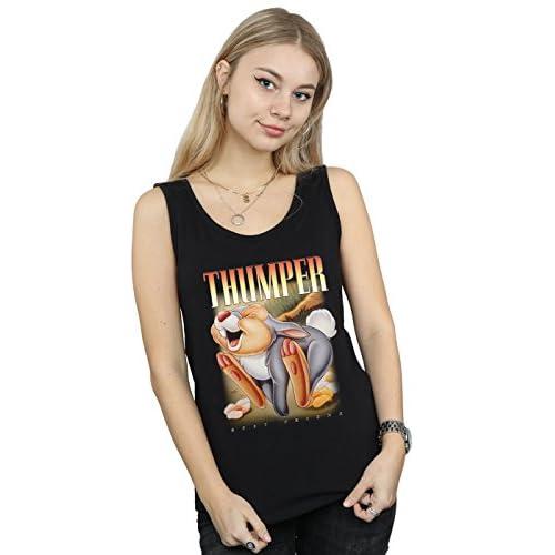 6b39b1b46e Disney Mujer Bambi Thumper Montage Camiseta Sin Mangas En venta ...