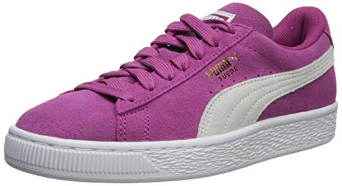 PUMA Women's Suede Classic WN's Sneaker, Magenta Haze White, 6.5 M US (Puma Womens Shoes Purple)