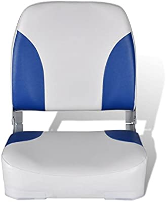 ® Bootssitz Bootsstuhl Steuerstuhl Anglerstuhl Klappbar Kunst Leder PRO.TEC