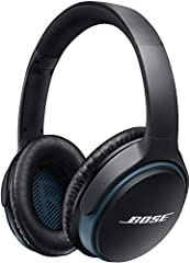 Enjoy a better wireless experience with Bose SoundLink around-ear wireless headphones II. Exclusive technology delivers deep, immersive sound at any volume, making them the best-sounding wireless headphones available. A dual microphone system...
