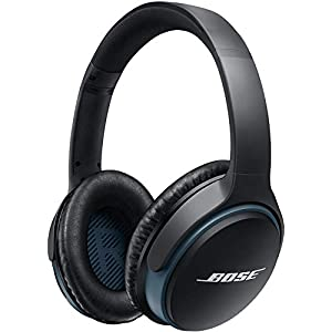 Bose SoundLink around-ear wireless headphones II Black (Renewed)