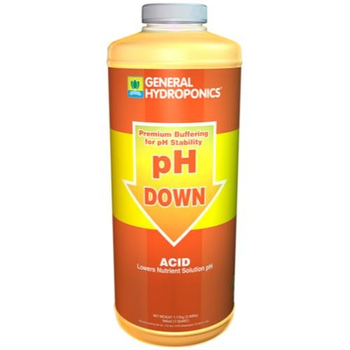 GH pH Down Liquid Quart by General Hydroponics