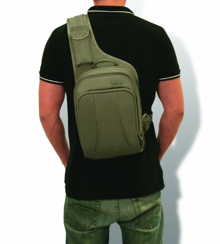 pacsafe luggage metrosafe 150 gii cross body sling bag