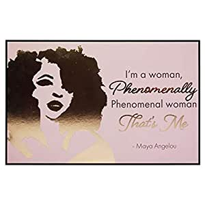 """African American Expressions - Phenomenal Woman Wall Plaque (10"""" x 6.3"""" x .7"""") CHWP-36"""