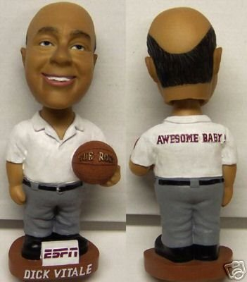Dick Vitale Basketball ESPN Broadcaster Bobblehead by Bobbleheads