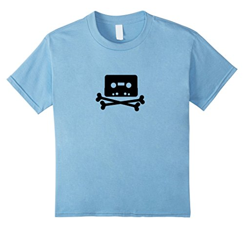 unisex-child The Pirate Bay Tape Logo T-Shirt 12 Baby (Pirate Bay Tape)