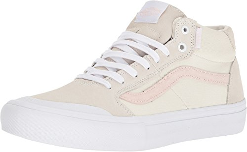 Style Vans - Vans Style 112 Mid Pro Mens Size 8.5 / Womens Size 10 Danlu Birch Pearl Skateboarding Shoes