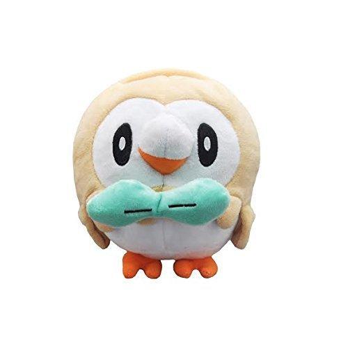 Pokemon Rowlet Soft Plush Figure Toy Anime Stuffed Animal 7